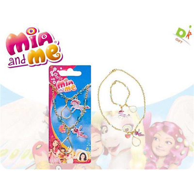 Mia And Me - Set Collana E Braccialetto 6,5X15 Cm Disney Accessori Bambina