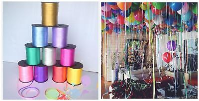 BALLONS BALOONS 200mUK METERS OF BALLON CURLING RIBBON FOR PARTY GIFT WRAPPING