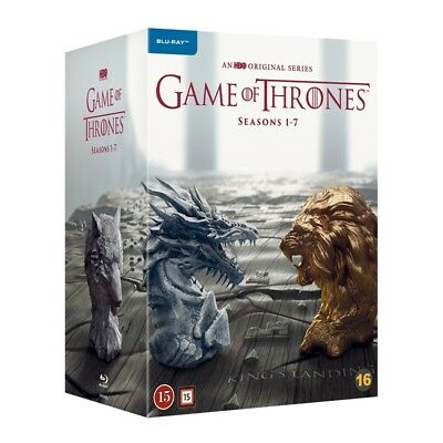 Game of Thrones Complete 1-7 Seasons Blu Ray