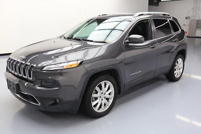 2016 Jeep Cherokee Limited Sport Utility 4-Door 2016 JEEP CHEROKEE LIMITED REAR CAM HTD LEATHER 36K MI #304350 Texas Direct Auto