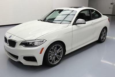 2015 BMW 2-Series Base Coupe 2-Door 2015 BMW M235I COUPE AUTO BLUETOOTH SUNROOF 20K MILES #358553 Texas Direct Auto