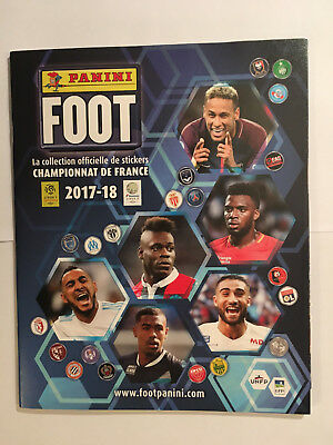 Album Panini Ligue 1 Foot 2017 2018 Vide Vierge Stickers Neuf Mint