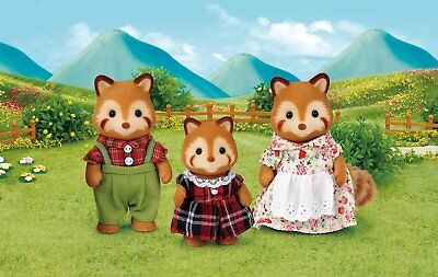 Sylvanian Families Red Panda Family Set
