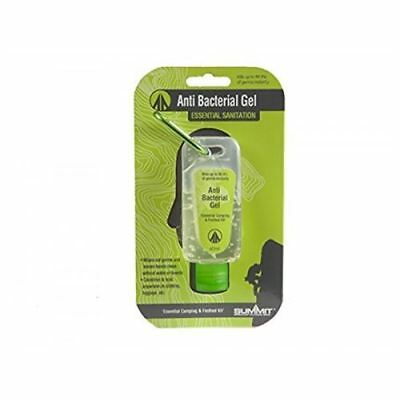 Summit Festival Camping Anti Bacterial Hand Wash Sanitiser Gel with Carabiner