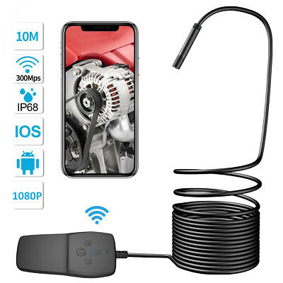 Wifi Endoscope 1080P Inspection Scope Camera 8LED HD waterproof For Iphone IOS