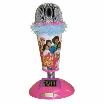 High School Musical Microphone Alarm Clock New