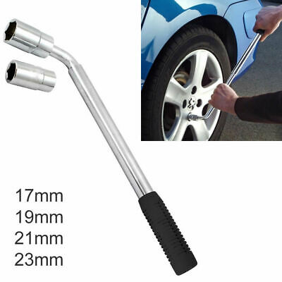 Extendable Wheel Wrench Telescopic Spanner with 17 19 21 23mm Socket Nut Tyre