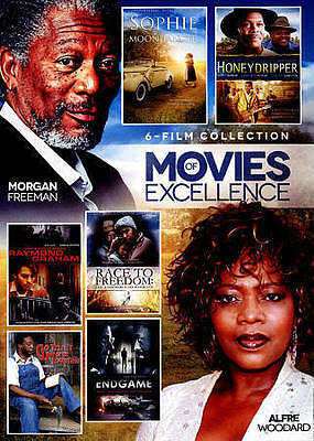 Movies of Excellence: 6 Film Collection, Vol. 4 (DVD, 2015, 2-Disc Set) NEW 47A