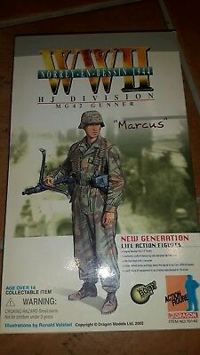 "Action Figur dragon "" Marcus ""1/6 wehrmacht wk2  #"