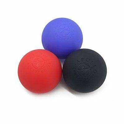 3 Pack Lacrosse Ball Massagers: Firm, Med-Firm and X-Firm - Massage Balls