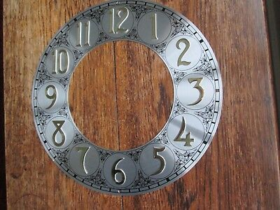 New Unused Longcase Clock Chapter Ring With Raised Numerals