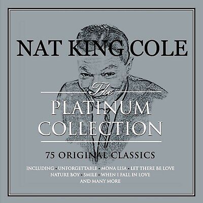 NAT KING COLE  * 75 Greatest Hits * 3-CD BOXSET * All Original Songs * NEW