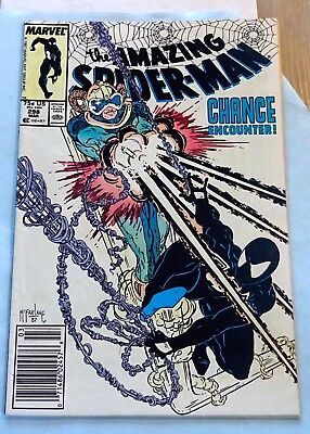 AMAZING SPIDER-MAN #298 Key marvel 1st McFarlane, Eddie Brock nice comic