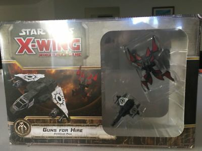 Star Wars X-Wing Miniatures Guns for Hire
