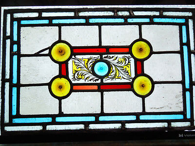 Interesting Victorian Stained Glass Decorative Interior