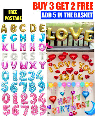 Hot Self Inflating Happy Birthday Party Banner Balloon Bunting Letter And Number