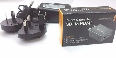 Blackmagic Design Micro Converter SDI to HDMI + Power Supply - Ships from Miami