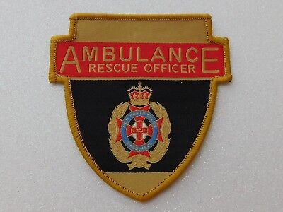 New South Wales Ambulance Rescue Officer patch