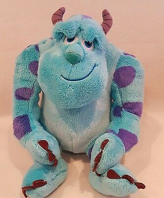 """Disney Sulley Monsters Inc, University Sully Soft  Plush Toy 10"""" NEW"""