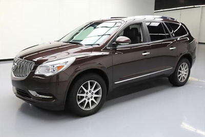 2015 Buick Enclave Leather Sport Utility 4-Door 2015 BUICK ENCLAVE LEATHER DUAL SUNROOF REAR CAM 48K MI #192006 Texas Direct