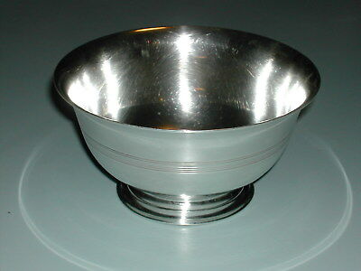 Antique Paul Revere Tiffany & Co .925 Pure Sterling Silver Candy Nut Bowl Dish