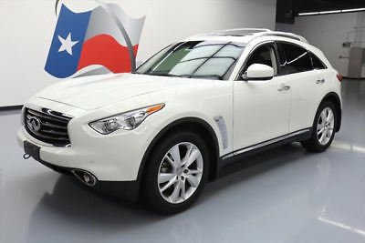 2013 Infiniti FX Base Sport Utility 4-Door 2013 INFINITI FX37 DELUXE TOURING SUNROOF NAV 20'S 56K #140825 Texas Direct Auto