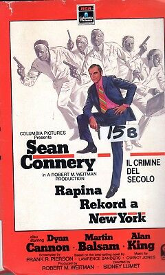 Rapina rekord a New York  (1987) VHS Columbia 1a Ed.  Sean Connery Sidney Lumet