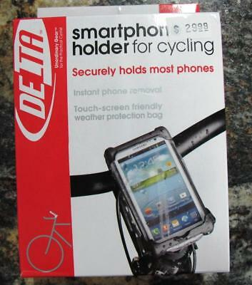 NEW Delta Cycle Bicycle Bike Smartphones Caddy Cell Phone Holder HL6002