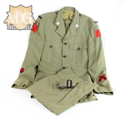 WW2/Early Post War Canadian Army Uniform Grouping 1951 Dated