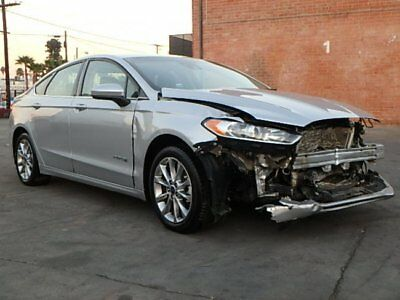 2015 Ford Fusion Hybrid SE 2017 Ford Fusion Hybrid SE Wrecked Repairable Perfect Commuter Low Miles MustSee