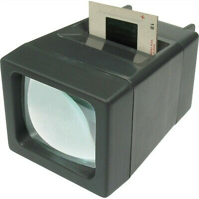 Medalight SV-2 35mm, 2x2 LED Compact Slide and Negative Viewer -2x Magnification