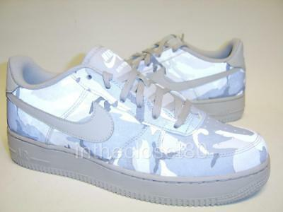 Nike Air Force 1 Camo LV8 GS Reflective White Wolf Grey Juniors Boys Girls  Women 20183f4f2f