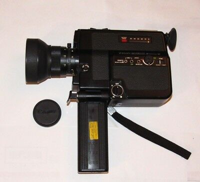 Canon 514XL-S Canosound Super 8 Film Video Camera AS-IS Untested Vintage