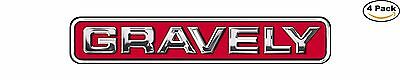 Gravely Garden Tractor Decal Sticker 4 Stickers