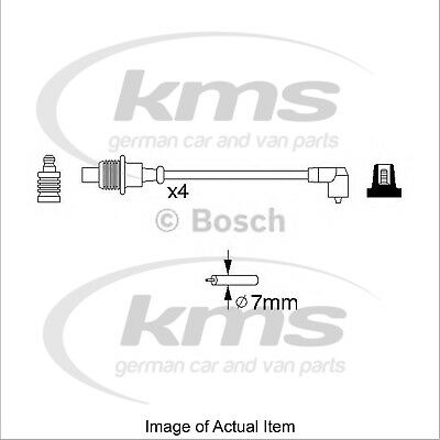 New Genuine BOSCH Ignition Lead Cable Kit 0 986 356 854 Top German Quality