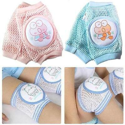 Baby Safety Crawling Elbow Cushion Toddlers Knee Pad Anti-slip Protector JA