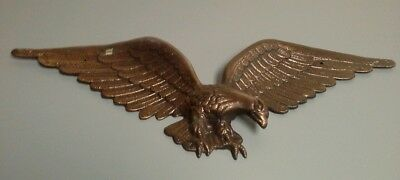 Vintage Cast Metal American Eagle Wall Hanging