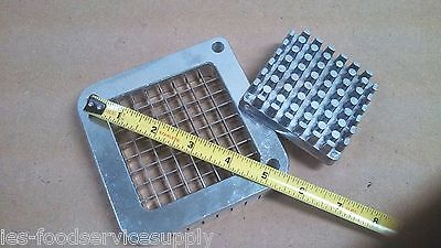 """REPLACEMENT BLADE & PUSHER SET ONLY For 3/8"""" Cut French Fry Cutter Import Models"""