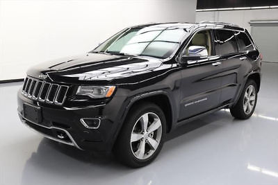 2015 Jeep Grand Cherokee Overland Sport Utility 4-Door 2015 JEEP GRAND CHEROKEE OVERLAND PANO NAV 20'S 27K MI #952302 Texas Direct Auto