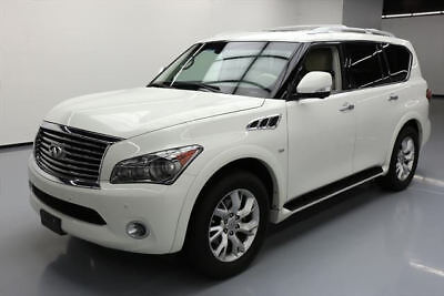2014 Infiniti QX80 Base Sport Utility 4-Door 2014 INFINITI QX80 THEATER SUNROOF NAV DVD 20'S 33K MI #553966 Texas Direct Auto
