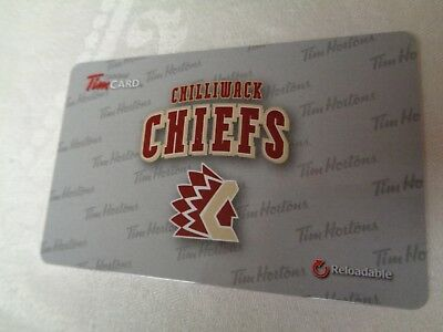 Tim Horton's  -  CHILLIWACK CHIEFS (FD52616) - 2016 New, Unused