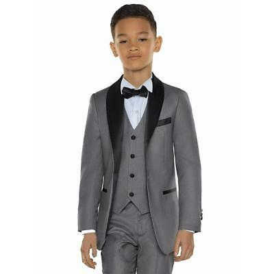 3 Piece School Boys Formal Tuxedos For Graduation Prom Child Wedding Party Suits