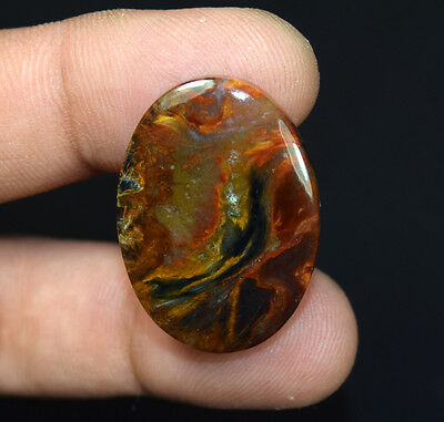 30.25 Cts. 100 % Natural Chatoyant Pietersite Oval Cabochon Loose Gemstones