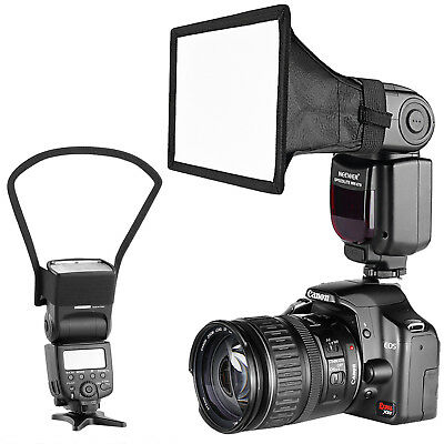 Neewer on-Camera Flash Softbox and Reflector Diffuser for Canon Nikon Speedlight