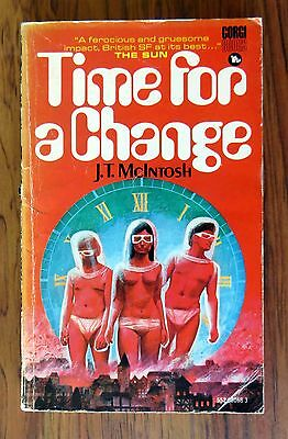 J. T. McIntosh - Time for a Change - 1969 p/b