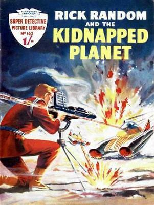 SUPER DETECTIVE LIBRARY No.163 - THE KIDNAPPED PLANET - Facsimile Comic