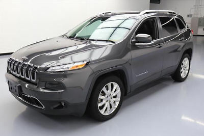 2016 Jeep Cherokee Limited Sport Utility 4-Door 2016 JEEP CHEROKEE LIMITED REAR CAM HTD LEATHER 29K MI #311708 Texas Direct Auto