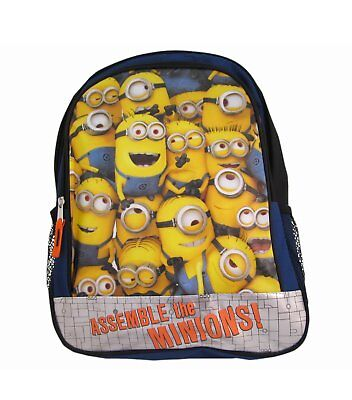 """New Despicable Me2 """"Assemble the Minions!"""" Backpack 16"""""""