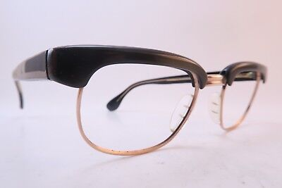 Vintage 50s eyeglasses frames green acetate gold filled MARWITZ OPTIMA Germany