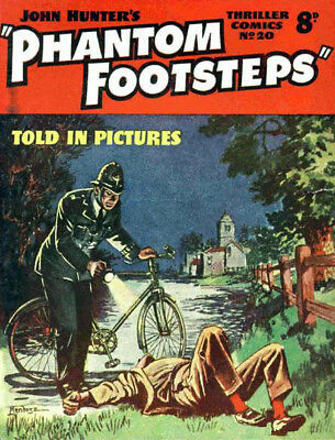 THRILLER COMICS / PICTURE LIBRARY No.20 PHANTOM FOOTSTEPS Facsimile Comic